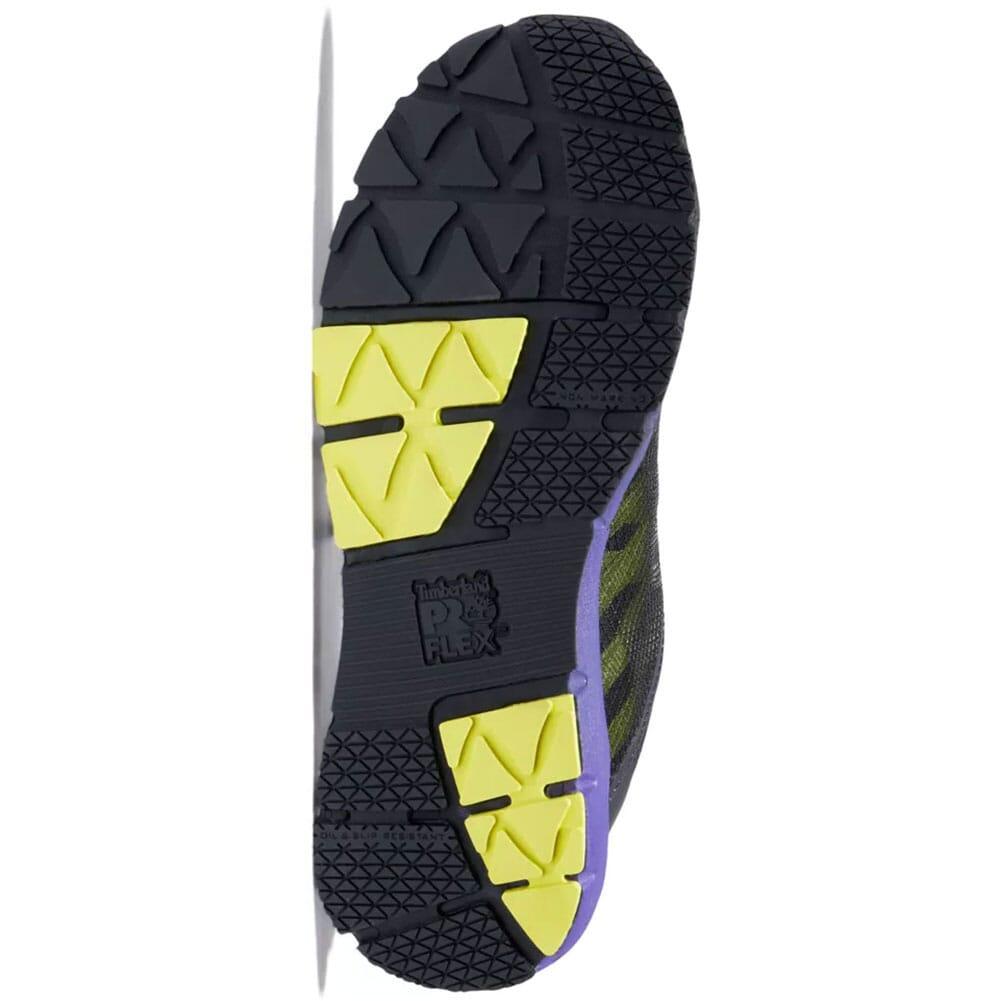 A2844001 Timberland Pro Women's Radius Safety Shoes - Black/Purple