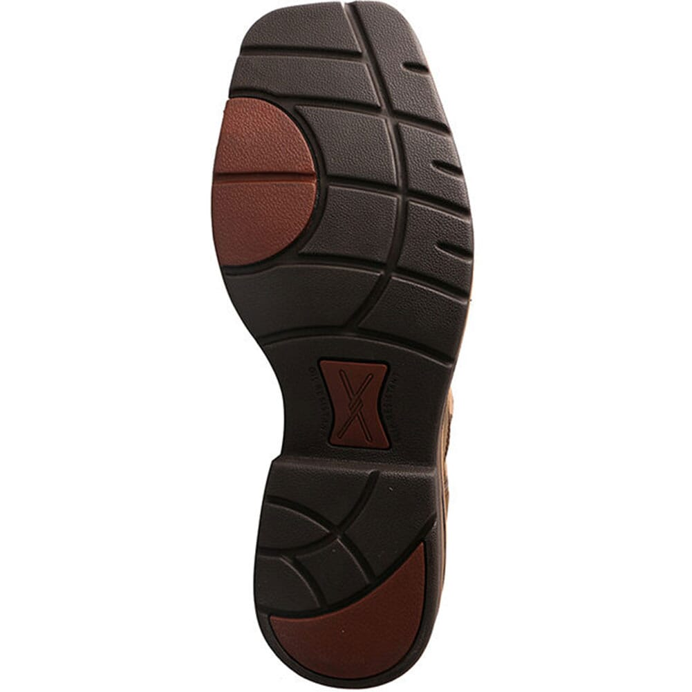 Twisted X Men's Lite Cowboy Safety Boots - Crazy Horse