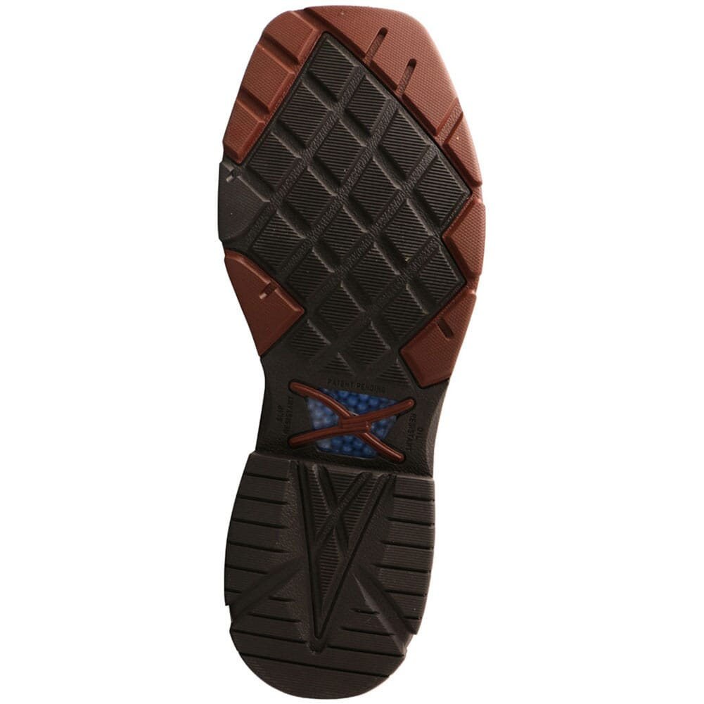 MXBAW01 Twisted X Men's CellStretch WP Safety Boots - Mocha/Navy