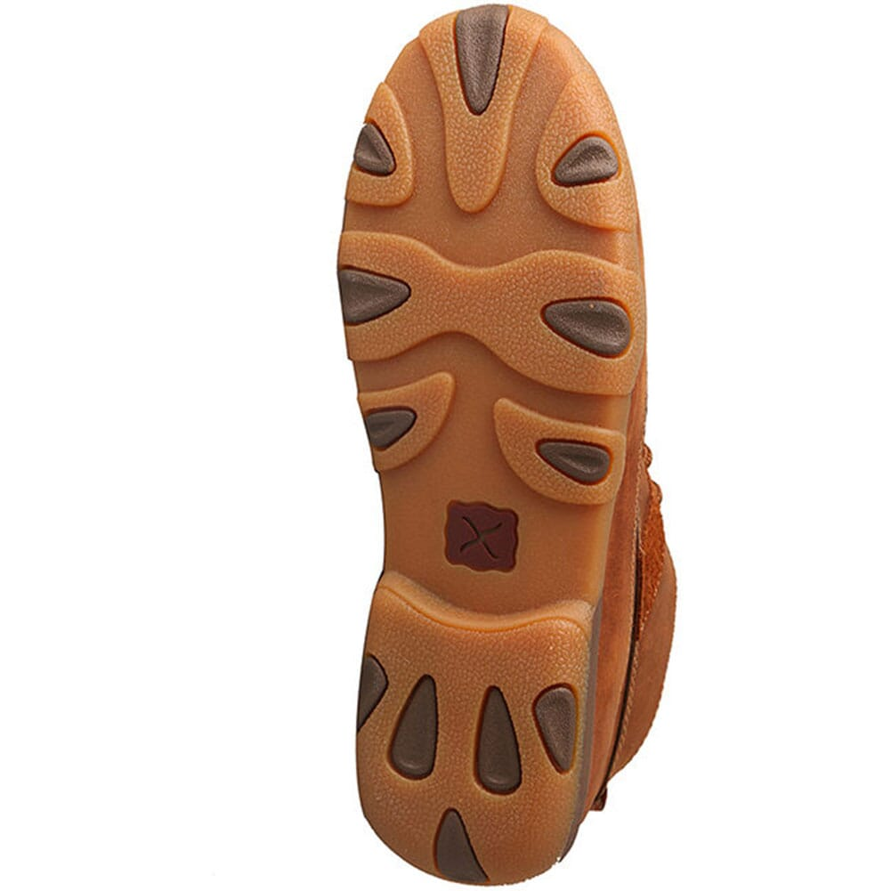 Twisted X Women's Mid Driving Moccasins - Oiled Saddle