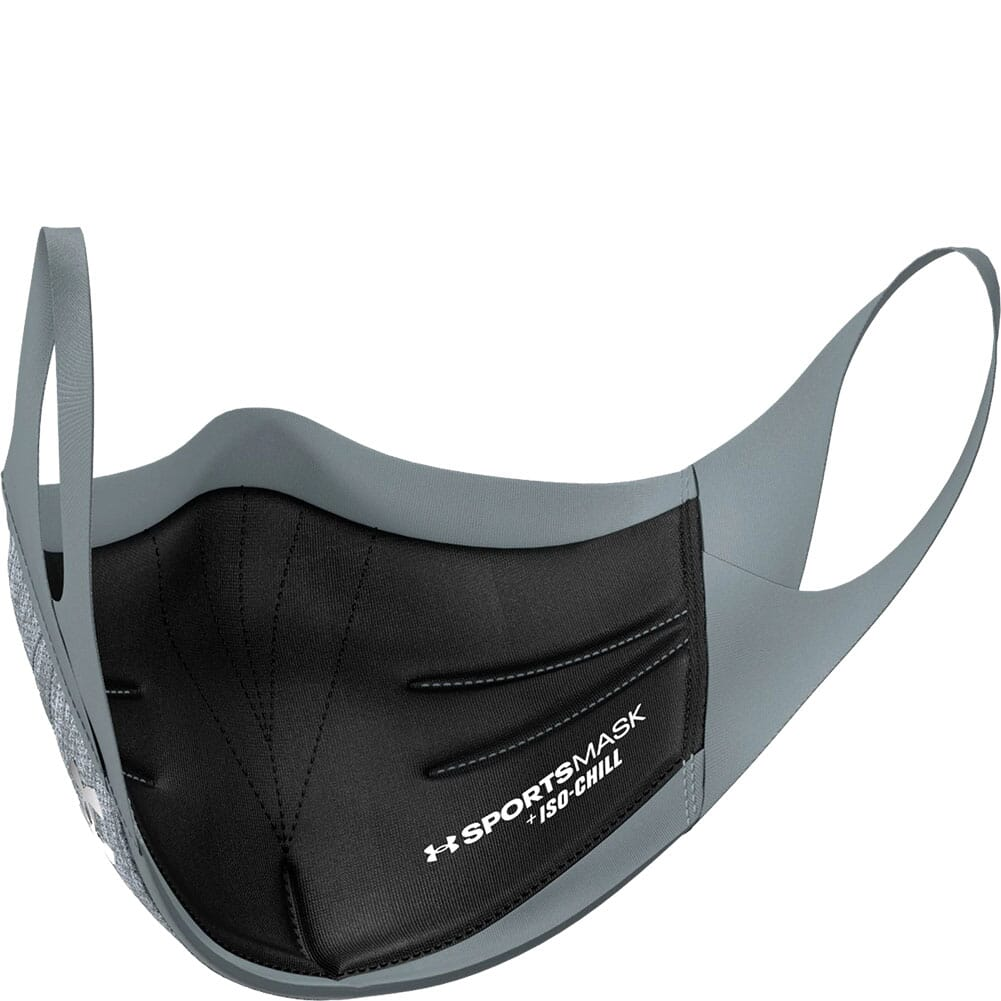 1368010-013 Under Armour Unisex Sportsmask - Pitch Gray/Mod Gray/Silver Chrome