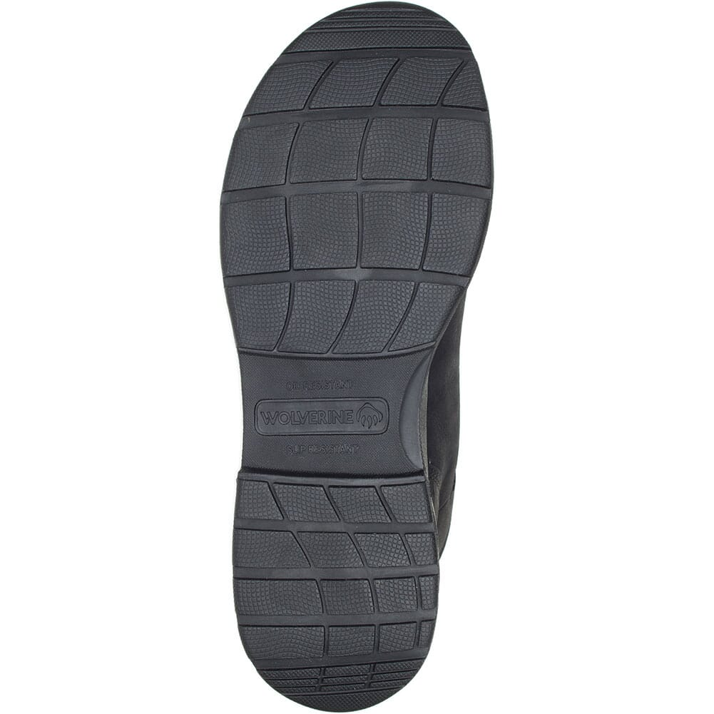 W201212 Wolverine Men's Logan ESD Safety Boots - Black