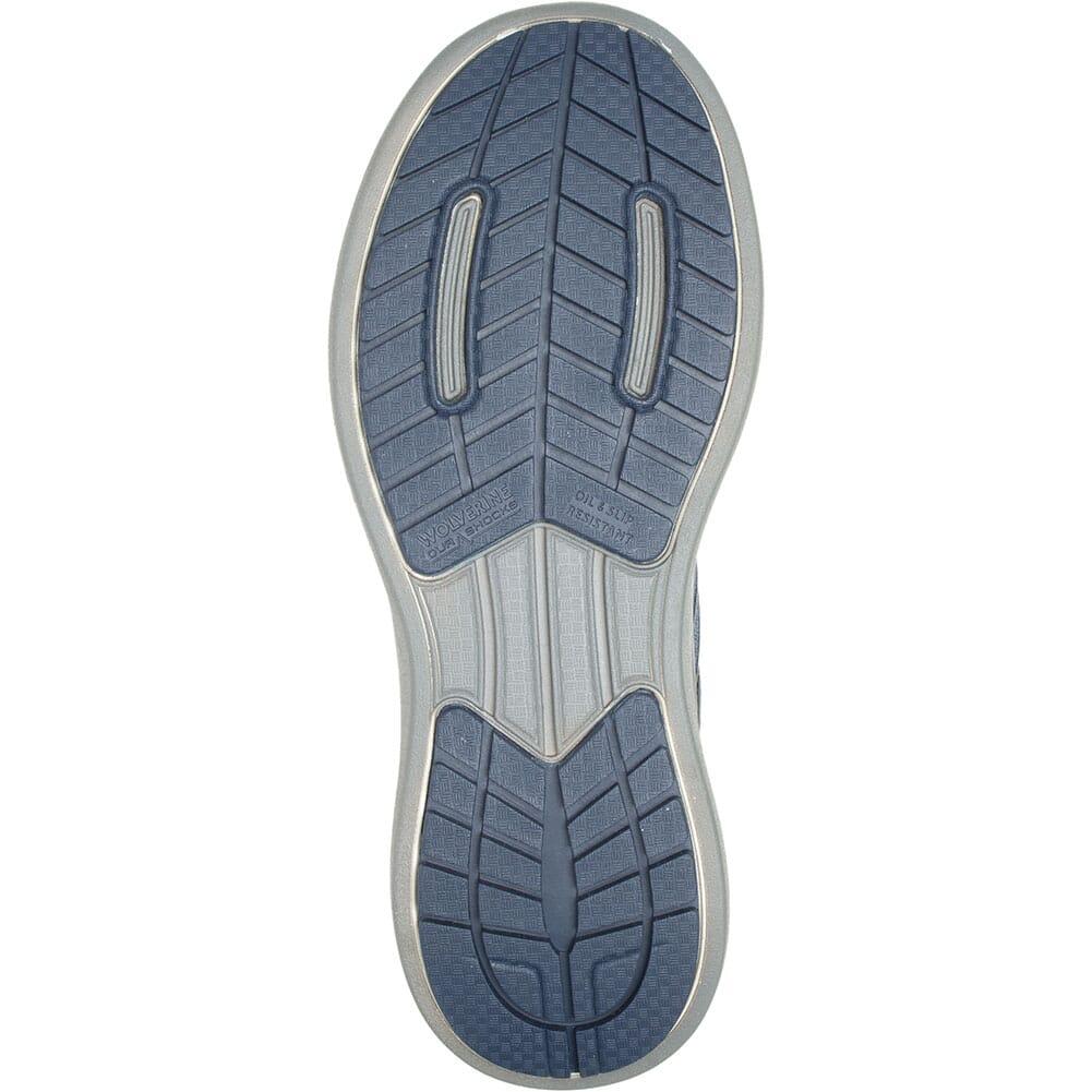 W211006 Wolverine Men's Bolt Vent Safety Shoes - Navy