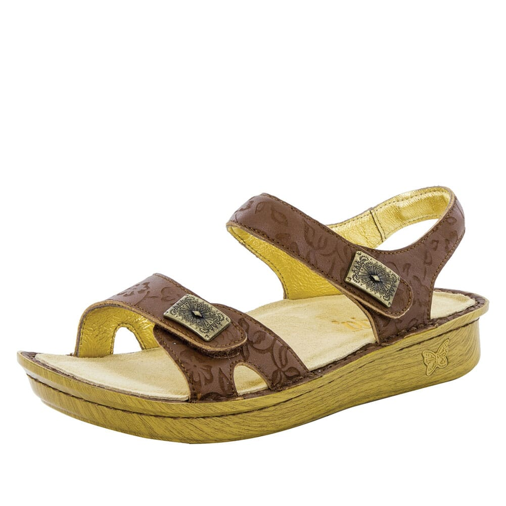 VIE-462 Alegria Women's Vienna Slingback Sandals - Morning Glory Tan