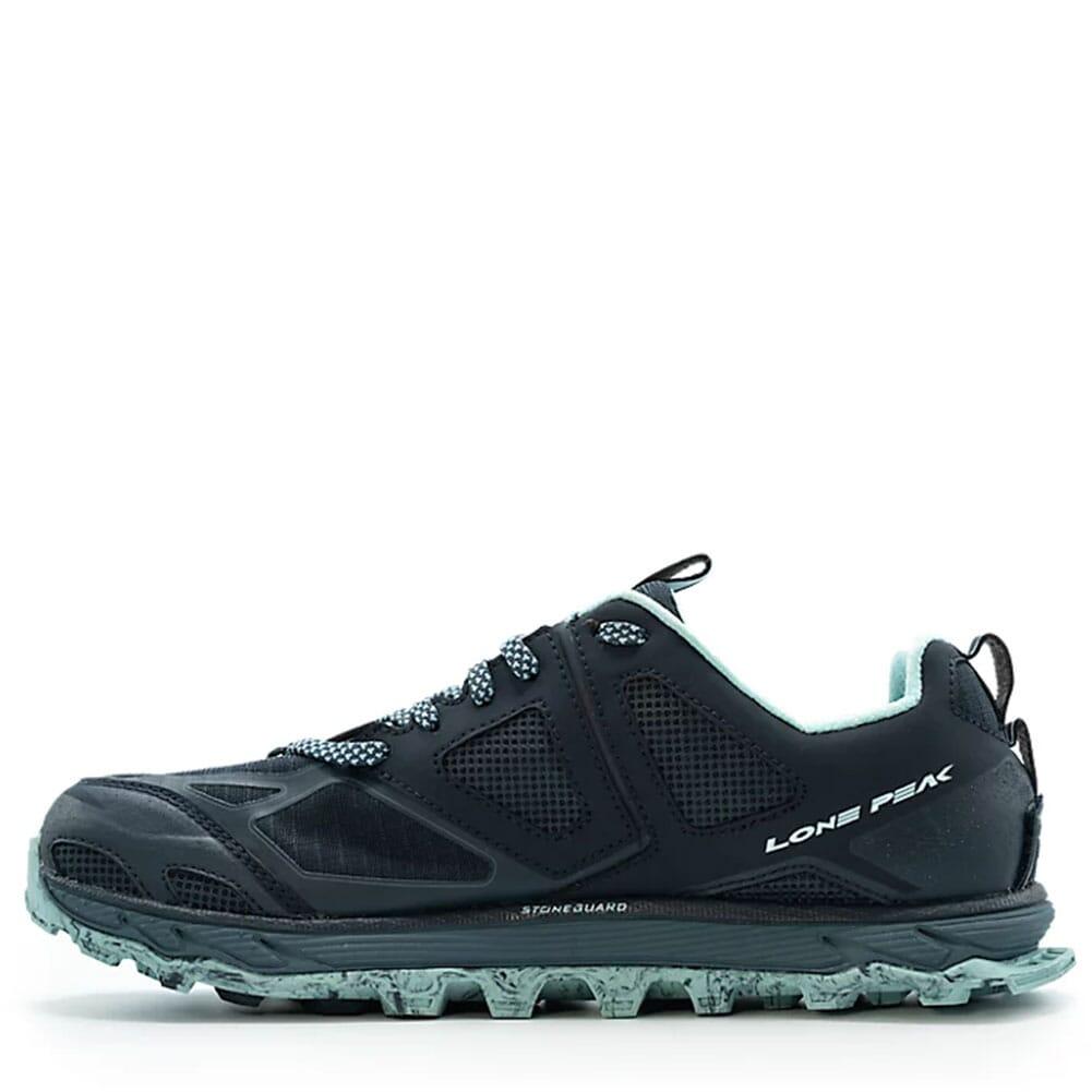 AL0A4QTX-446 Altra Women's Lone Peak 4.5 Running Shoes - Navy/Light Blue