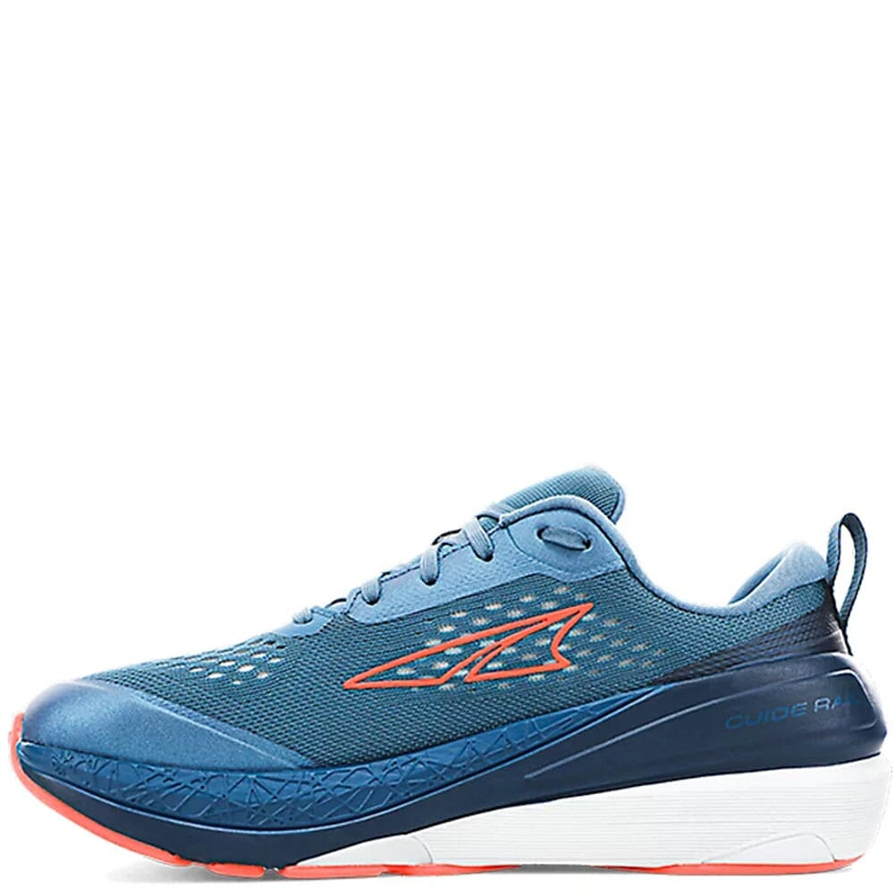 0A4VQY-460 Altra Women's Paradigm 5 Athletic Shoes - Blue/Coral