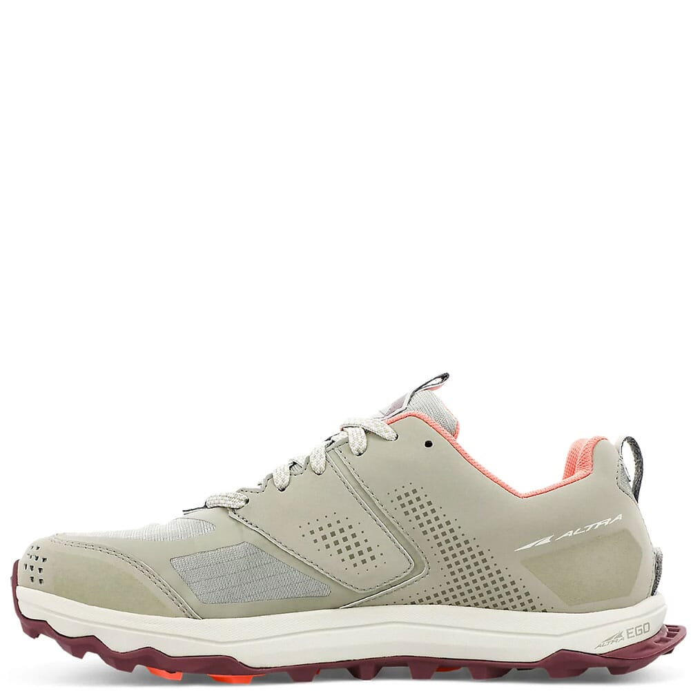 0A4VR7-017 Altra Women's Lone Peak 5 Low Running Shoes - Khaki