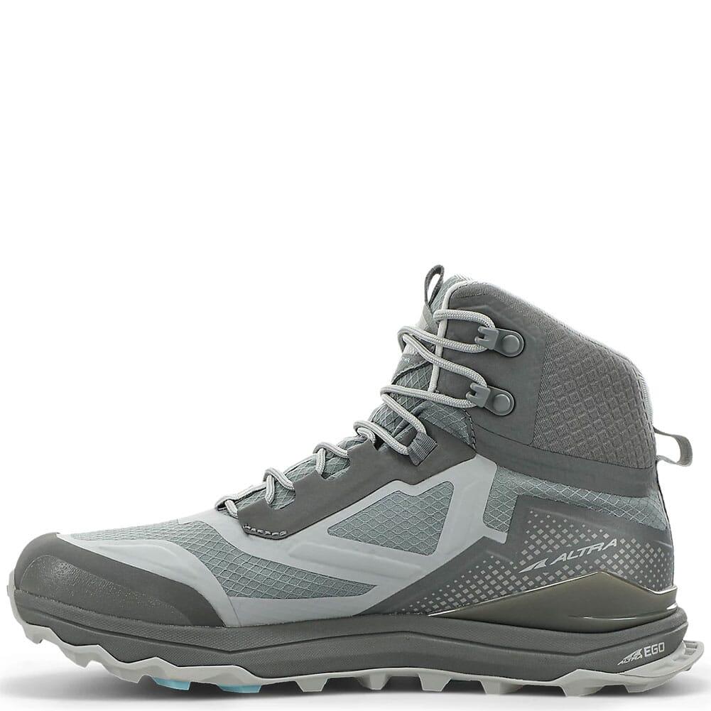 0A4VRA-231 Altra Women's Lone Peak ALL-WTHR Mid Boots - Gray/Green