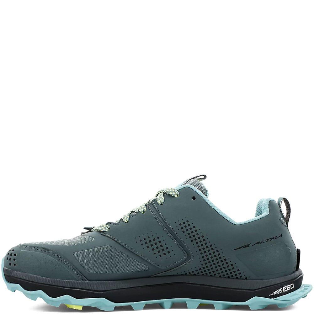 0A547W-327 Altra Women's Lone Peak 5 Wide Running Shoes - Balsam Green