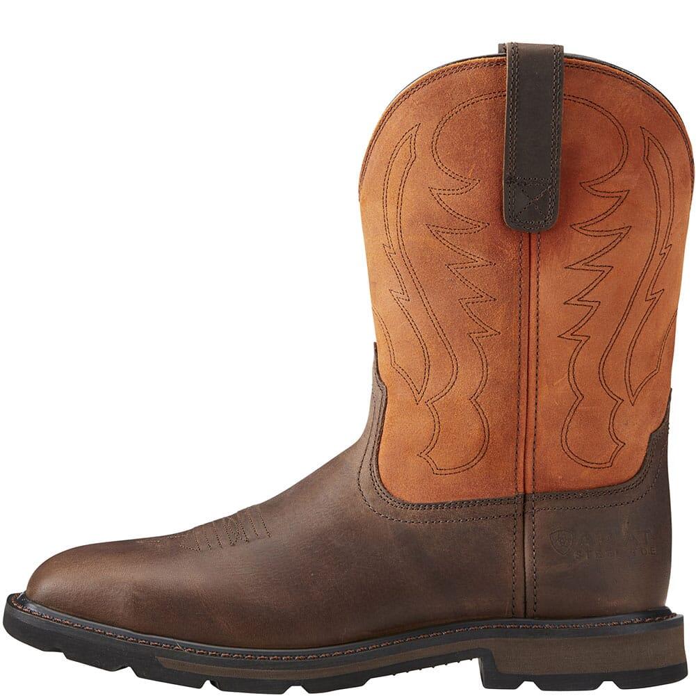 Ariat Men's Groundbreaker Safety Boots - Brown/Ember