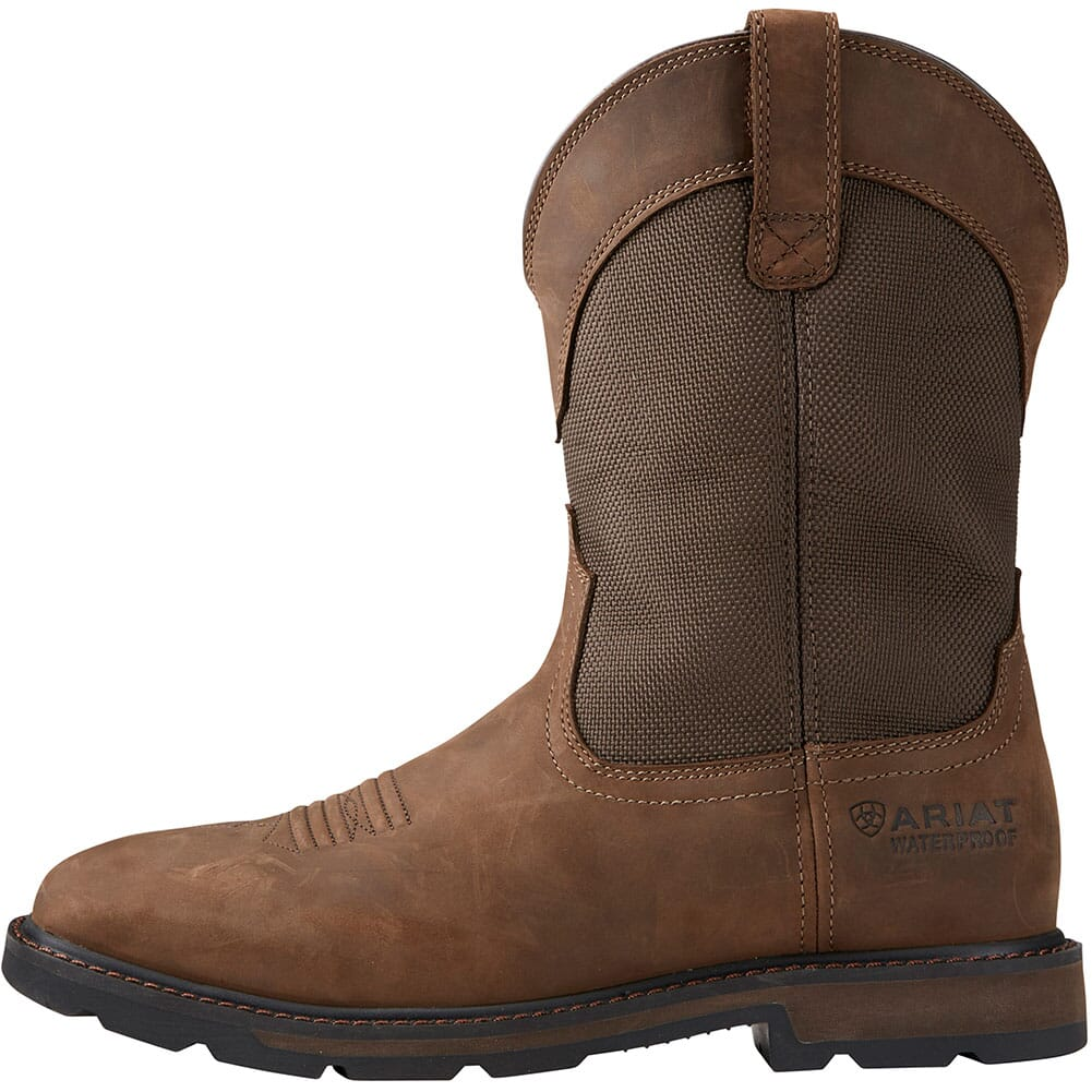 Ariat Men's Groundbreaker Safety Boots - Brown
