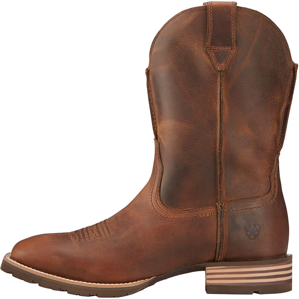 Ariat Men's Hybrid Street Side Western Boots - Powder Brown