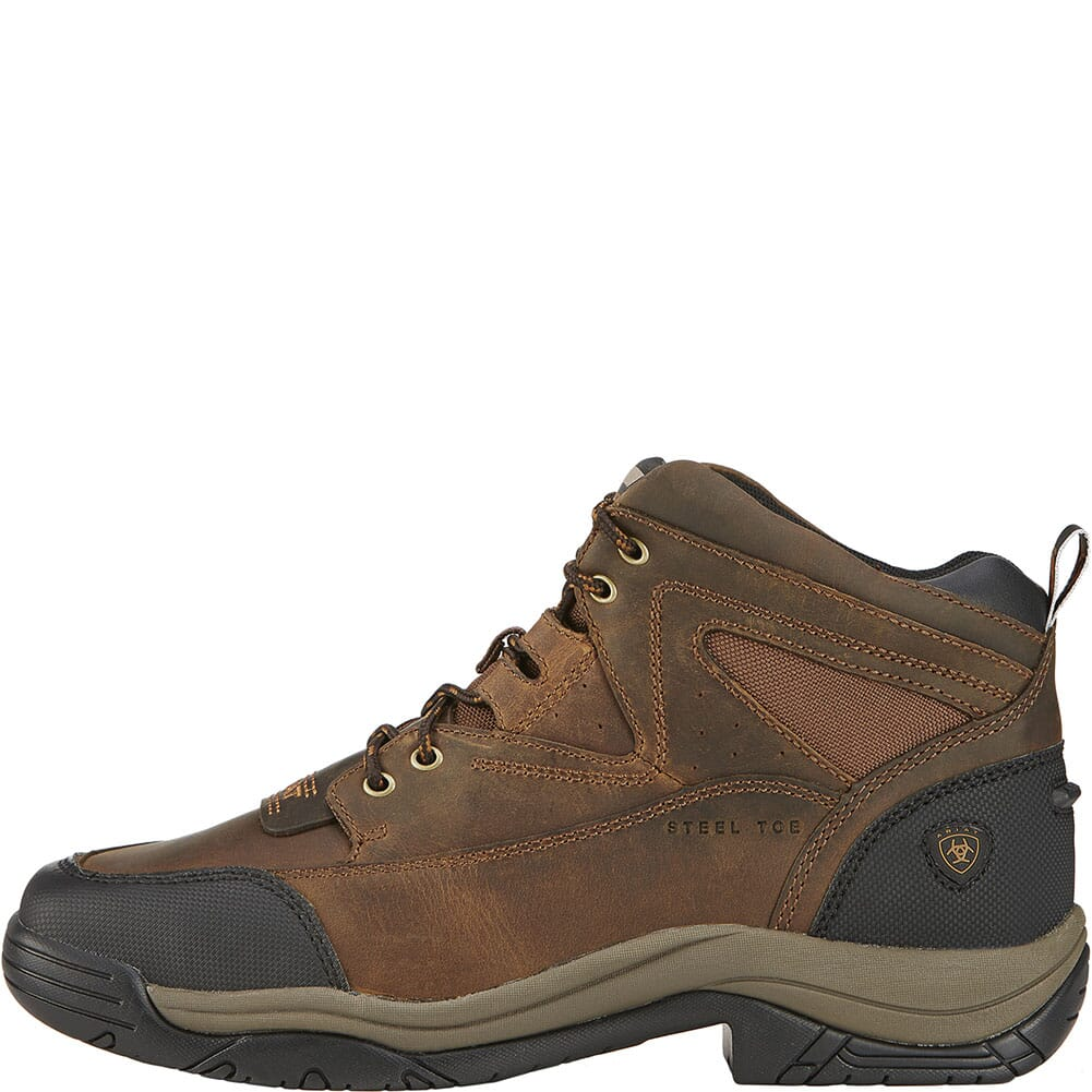 10016379 Ariat Men's Terrain Wide Square Toe Safety Boots - Brown