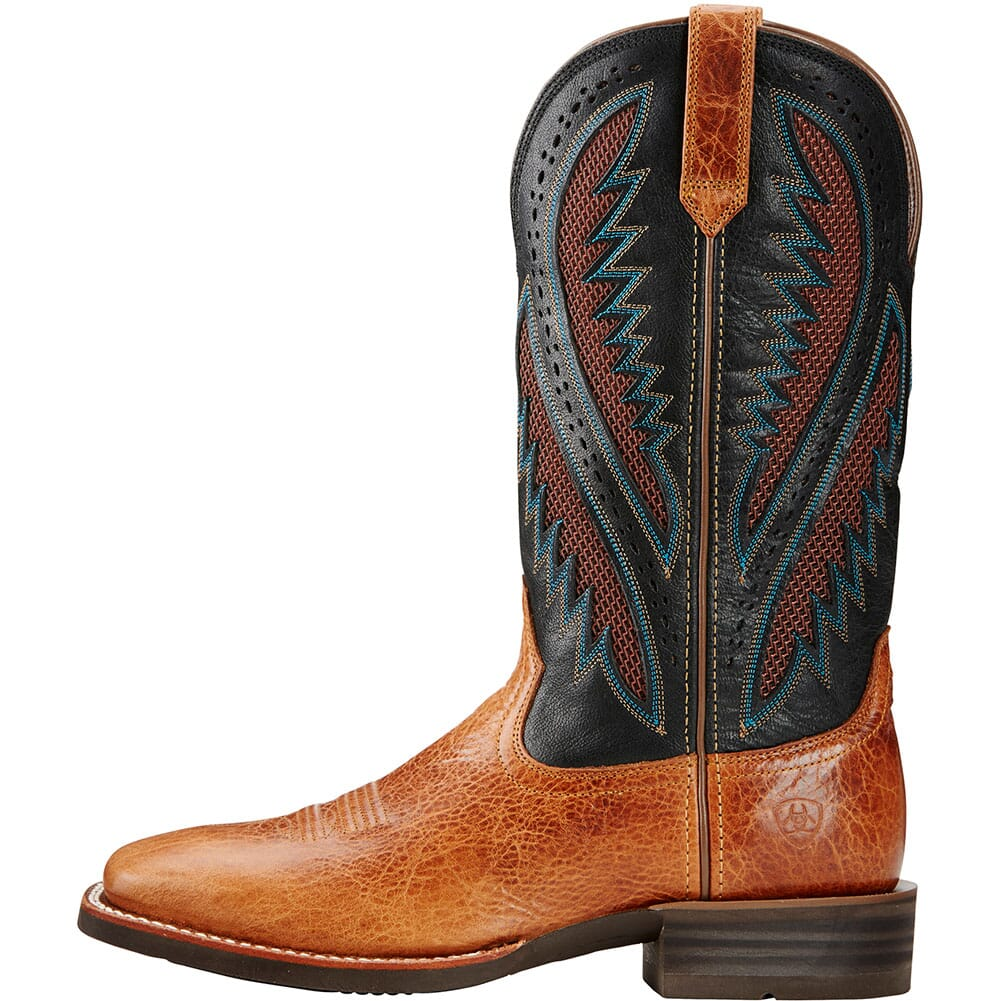 Ariat Men's Quickdraw VentTEK Western Boots - Gingersnap