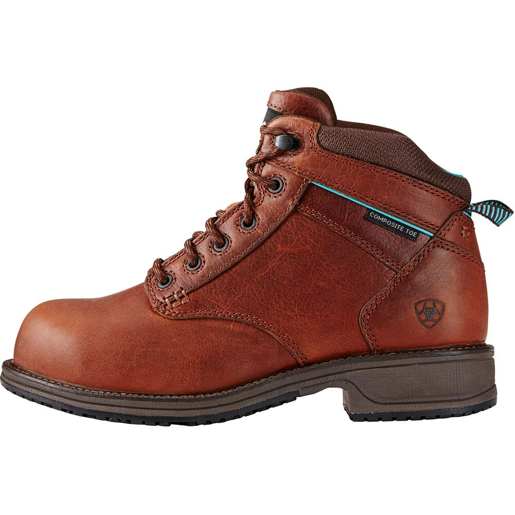 Ariat Women's Lacer SD Safety Boots - Nutty Brown