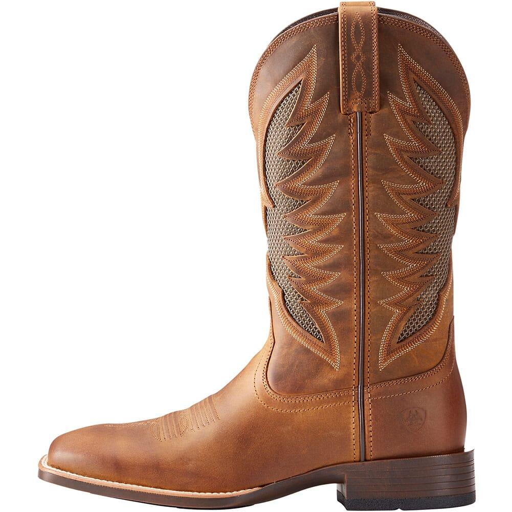 Ariat Men's VentTek Ultra Western Boots - Distressed Brown