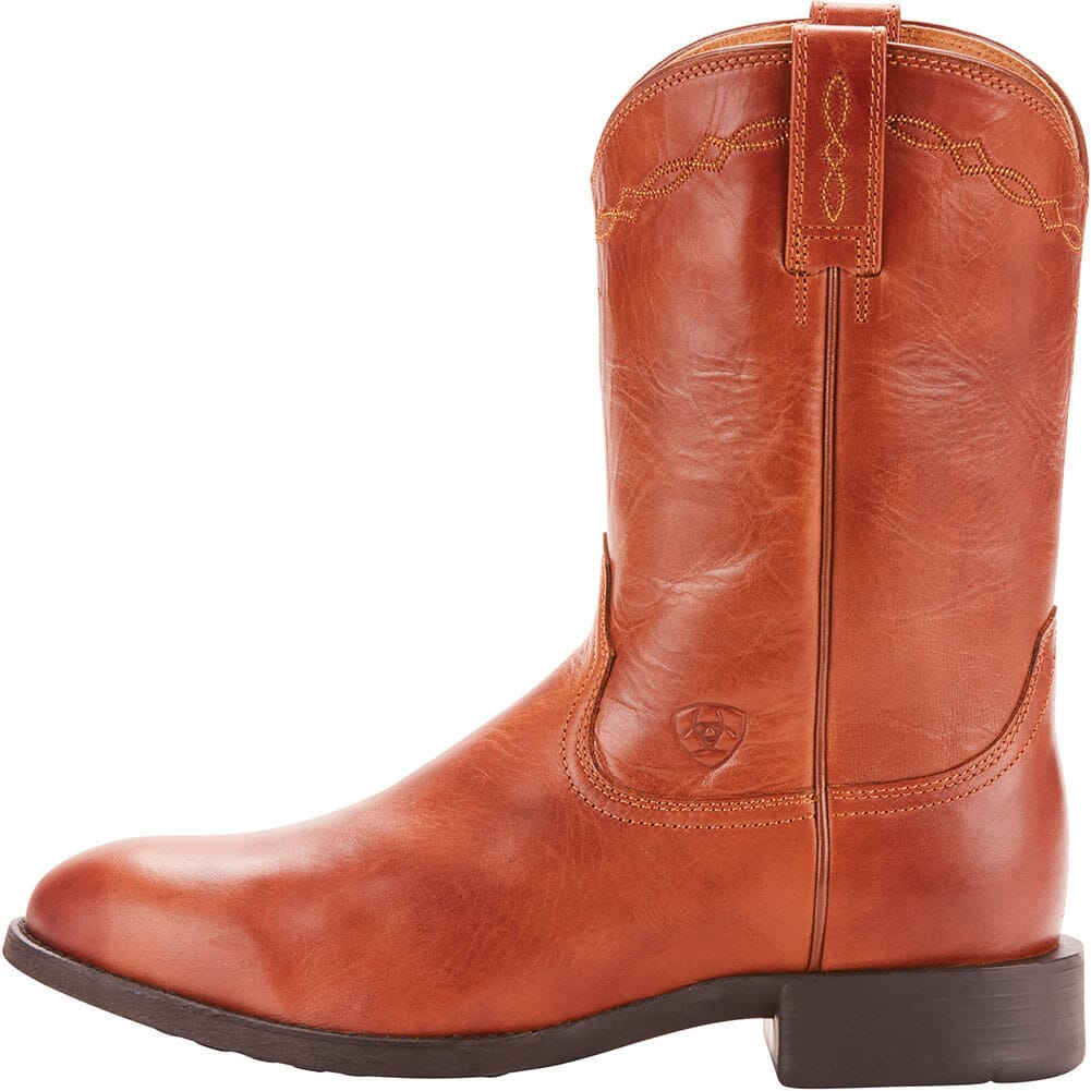 Ariat Men's Heritage Western Ropers - Naturally Cognac