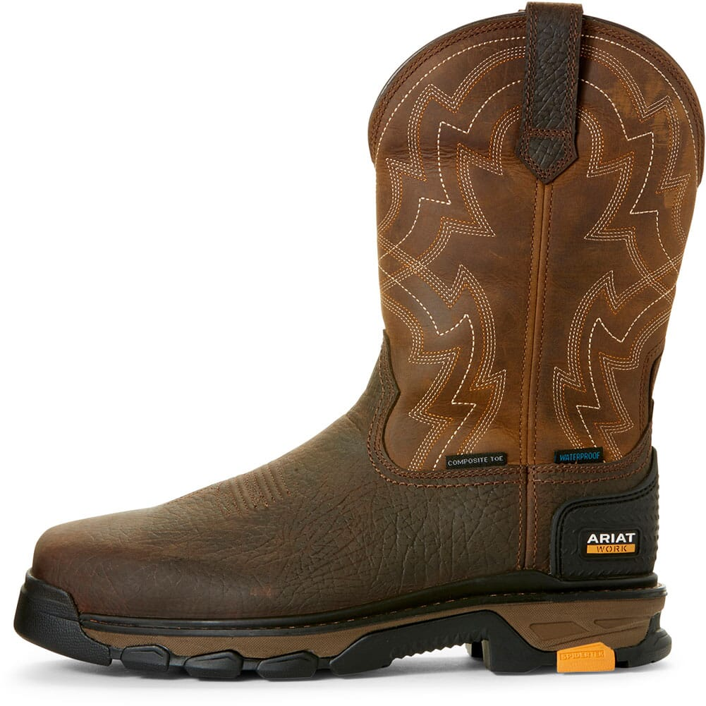 Ariat Men's Intrepid Force WP Safety Boots - Earth