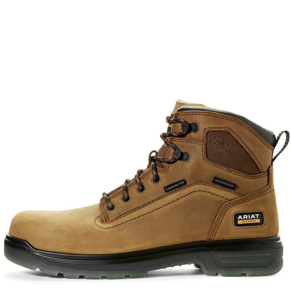 Ariat Men's Turbo H2O Safety Boots - Aged Bark