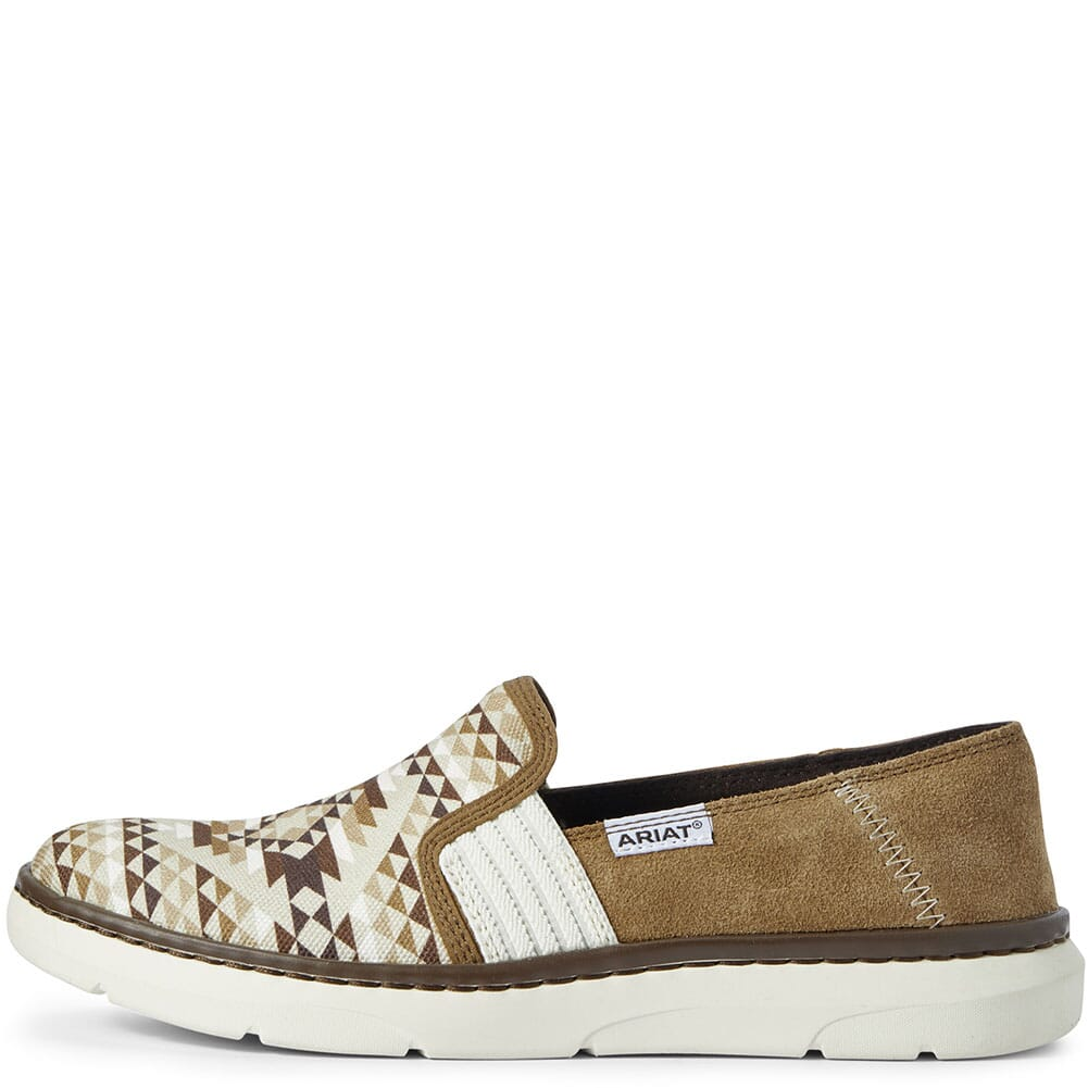Ariat Women's Ryder Casual Shoes - Tan Diamond Aztec