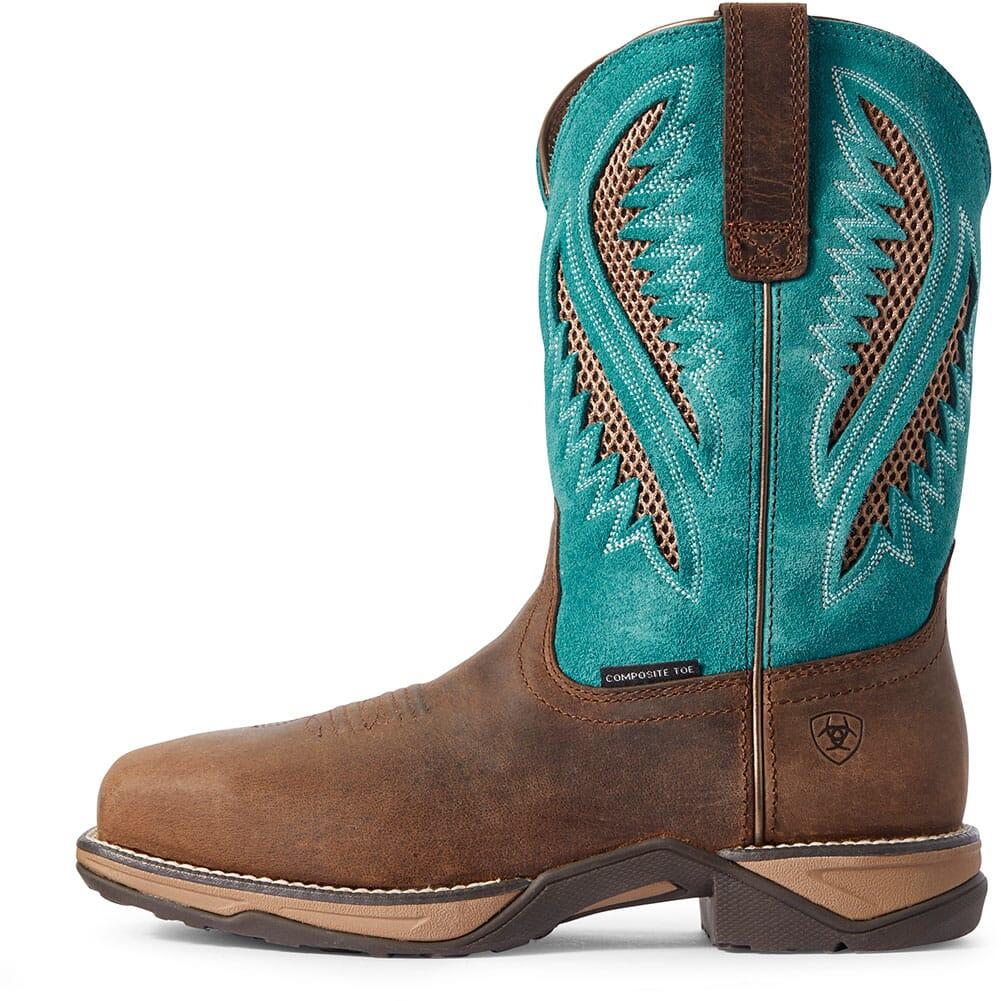 Ariat Women's Anthem VentTEK Safety Boots - Royal Chocolate