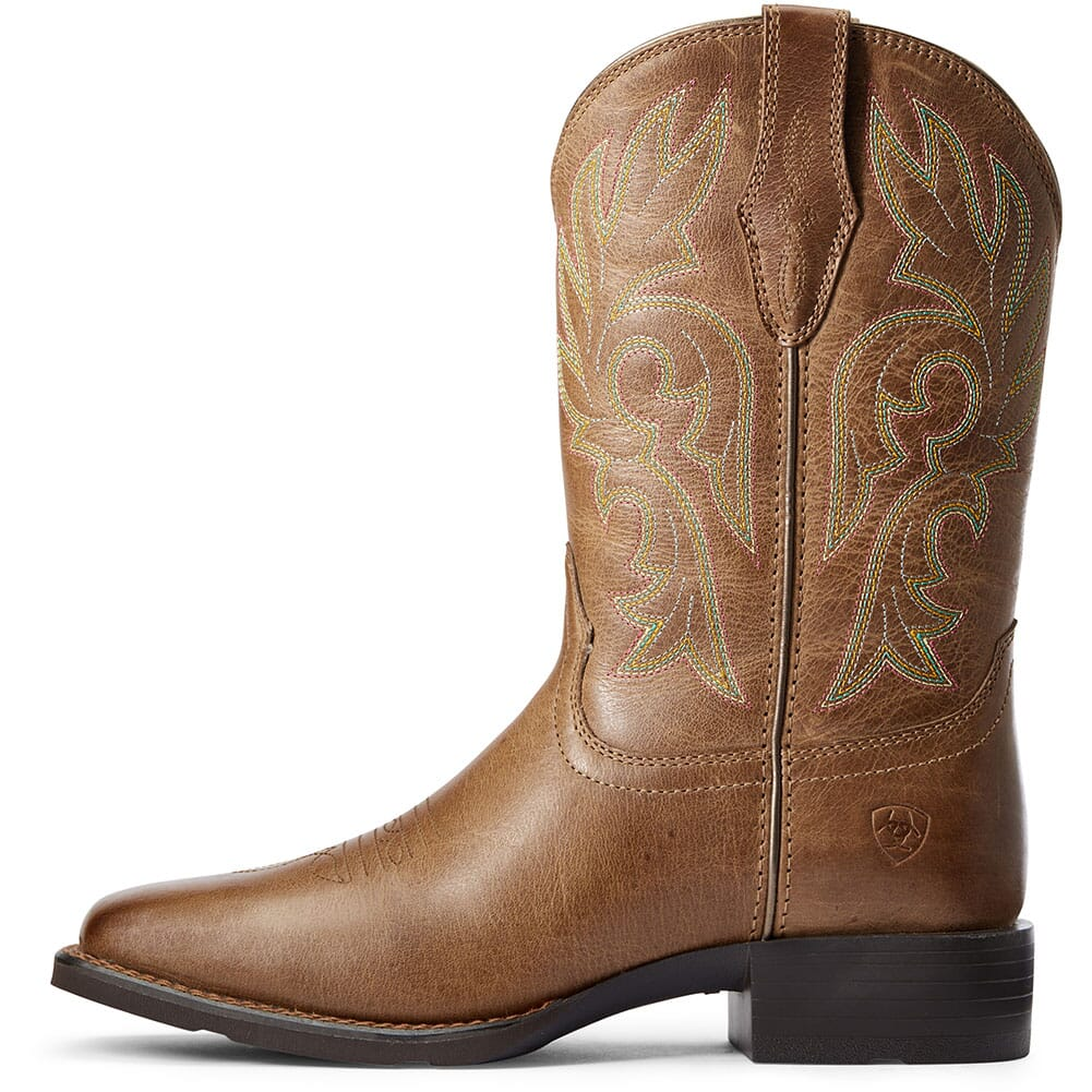 10033872 Ariat Women's Cattle Drive Western Boots - Dusty Brown