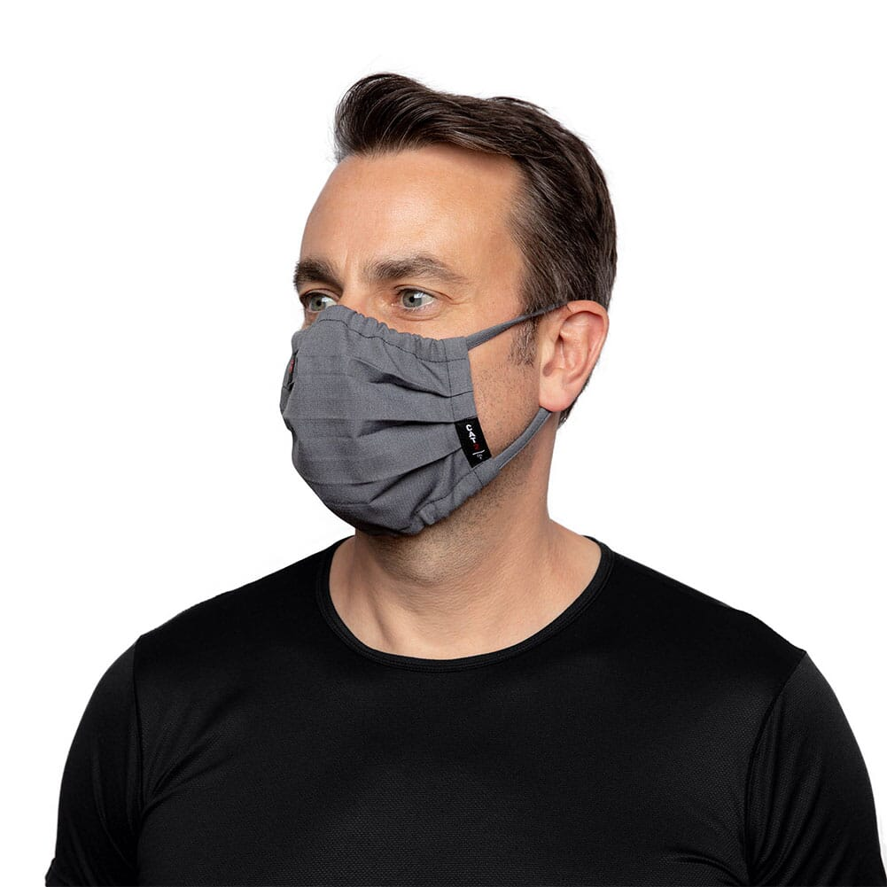 10036648 Ariat Unisex FR Featherlight Face Mask - Gunmetal