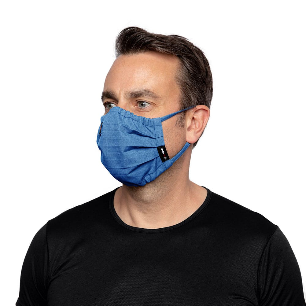 10036649 Ariat Unisex FR Featherlight Face Mask - Royal Blue