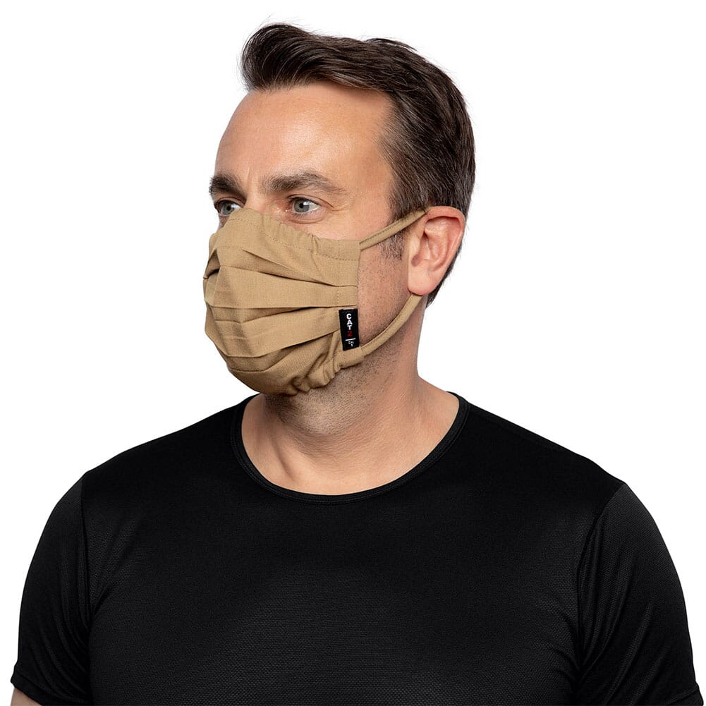 10036650 Ariat Unisex FR Featherlight Face Mask - Khaki