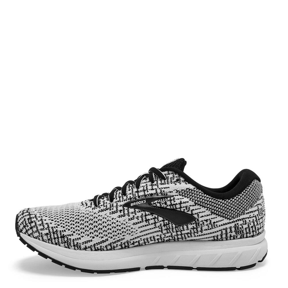 Brooks Women's Revel 3 Road Running Shoes - White/Black
