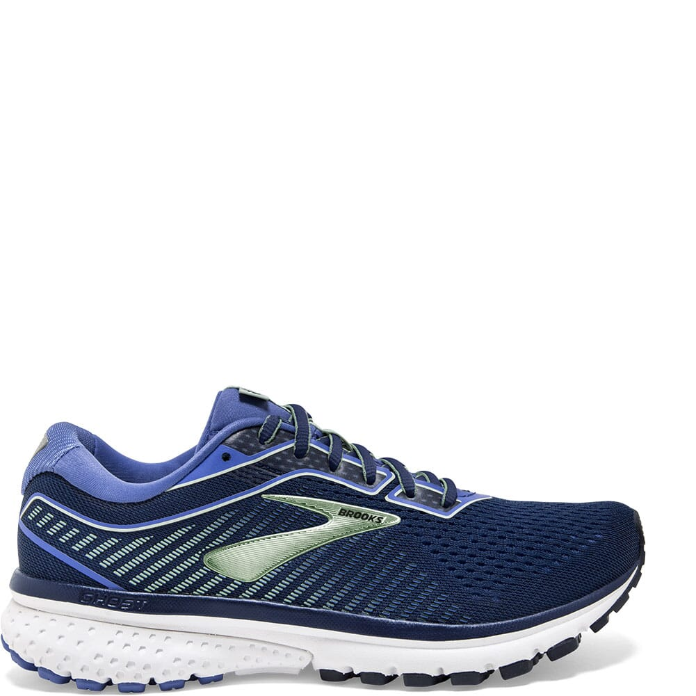 Brooks Women's Ghost 12 Road Running Shoes - Blue/Aqua