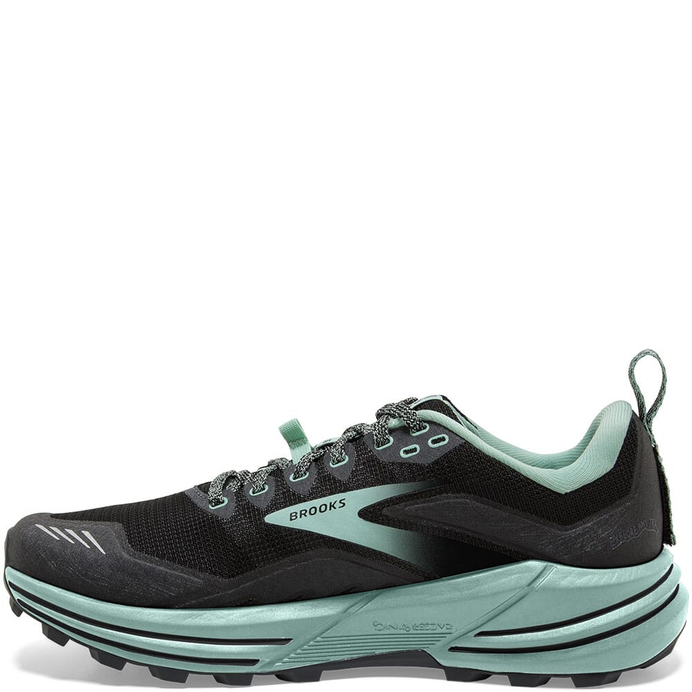 120363-049 Brooks Women's Cascadia 16 Running Shoes - Black/Ebony
