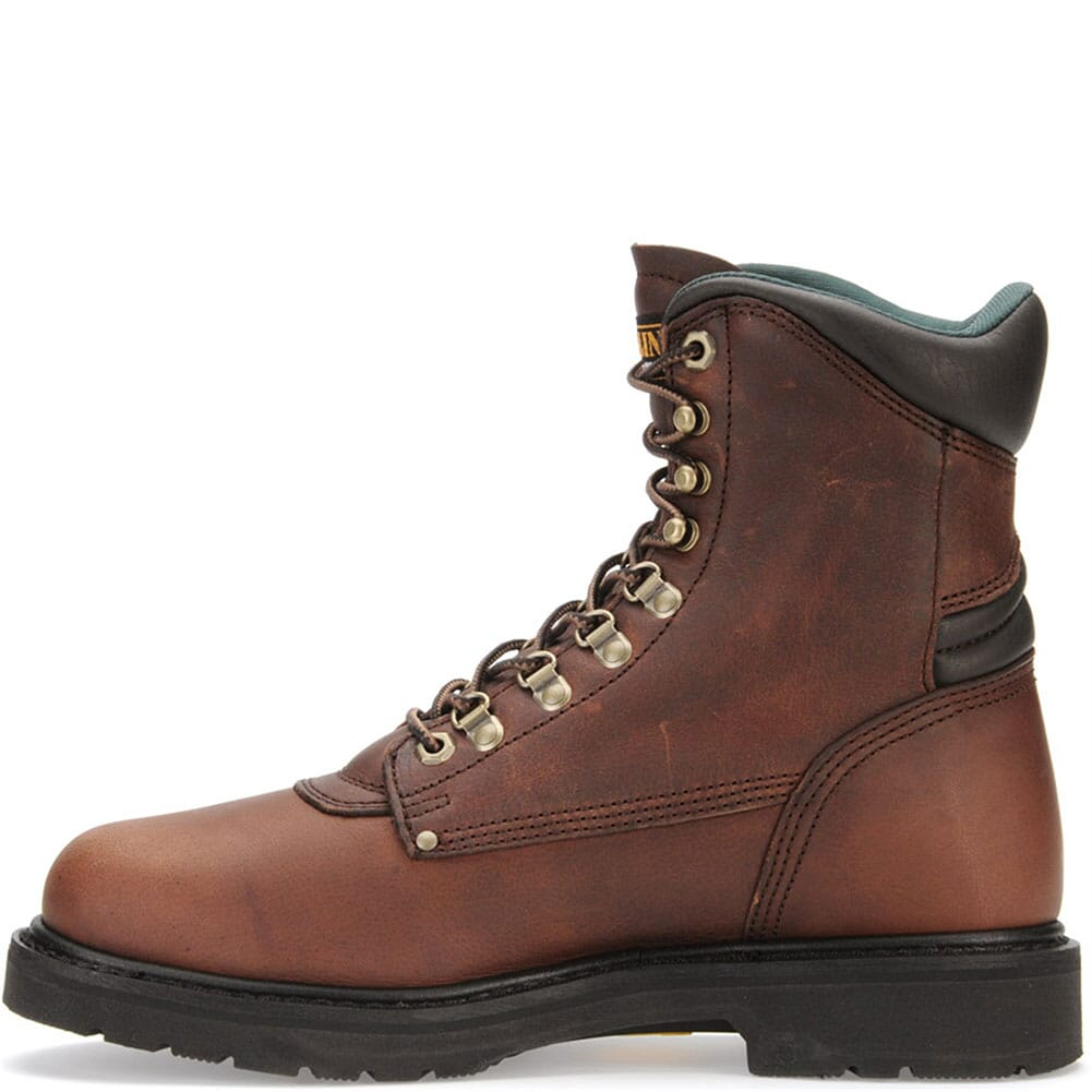 Carolina Men's Sarge Hi Safety Boots - Amber Gold