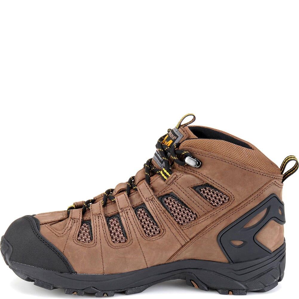 Carolina Men's WP 4x4 Hiker Work Boots - Dark Brown