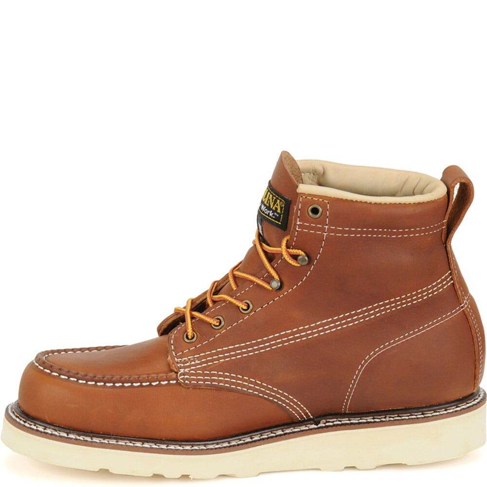 Carolina Men's AMP Wedge Work Boots - Tobacco