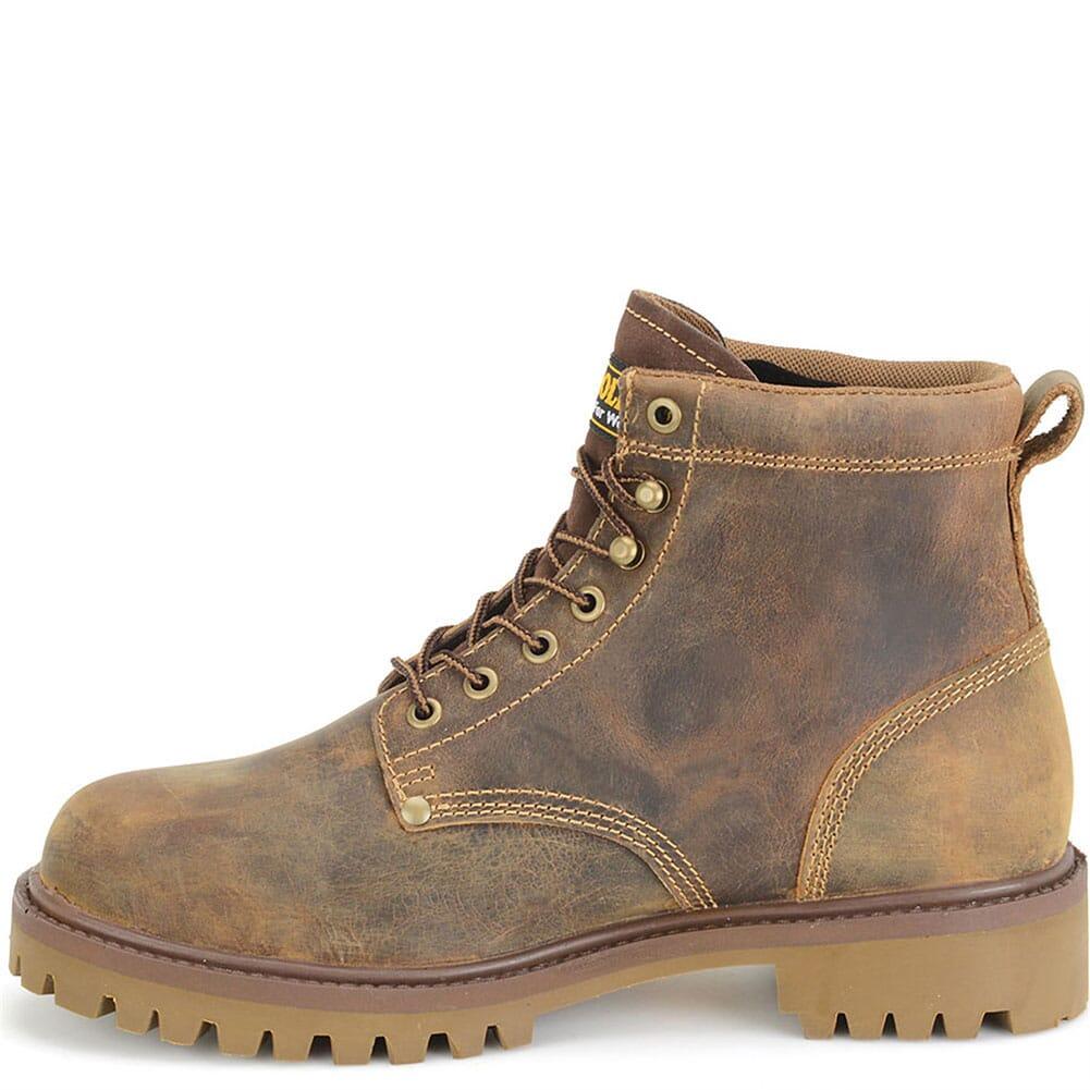Carolina Men's Steel Toe Waterproof Safety Boots - Brown