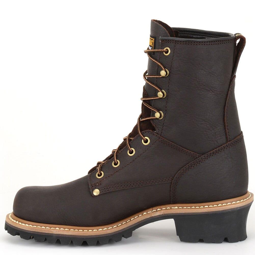 Carolina Men's Plain Toe Work Loggers - Briar