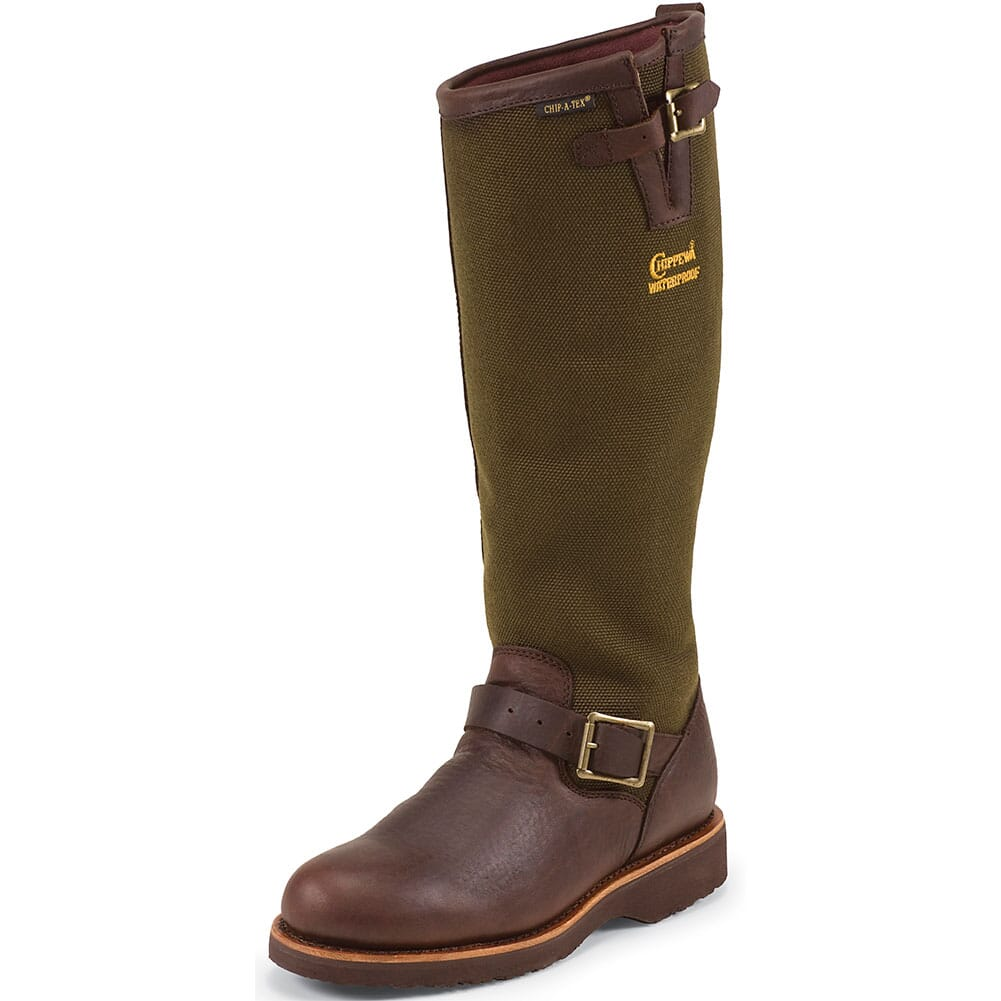 Chippewa Men's Hunting Boots - Brown (ALL SALES FINAL)