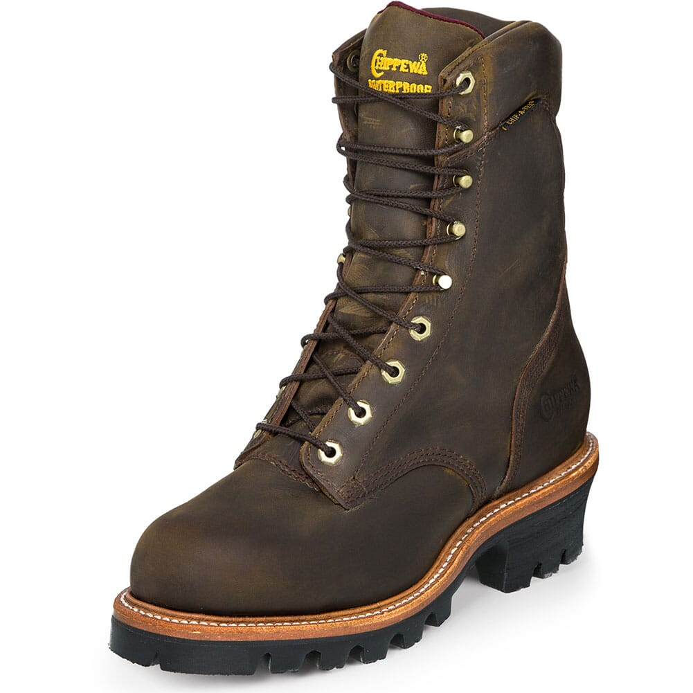 Chippewa Men's Super Safety Loggers - Bay Apache