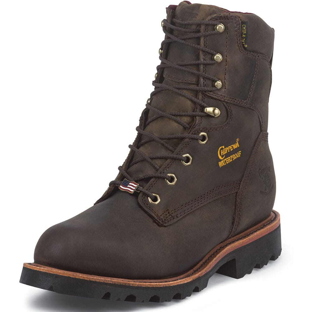 Chippewa Men's Arctic WP INS Safety Boots - Bay Apache