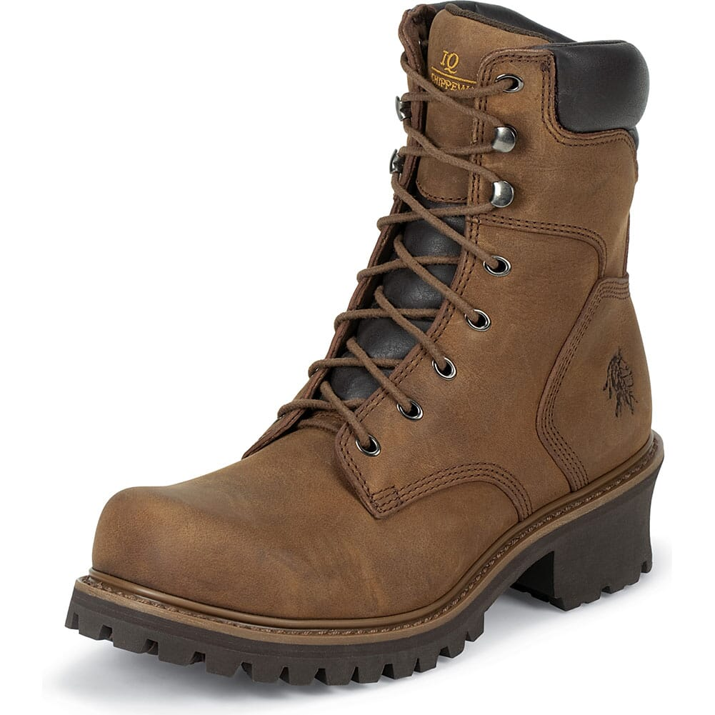 Chippewa Men's Safety Loggers - Bark (ALL SALES FINAL)