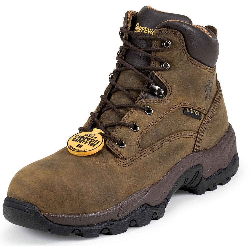 Chippewa Men's WP COMP Safety Boots - Bay Apache