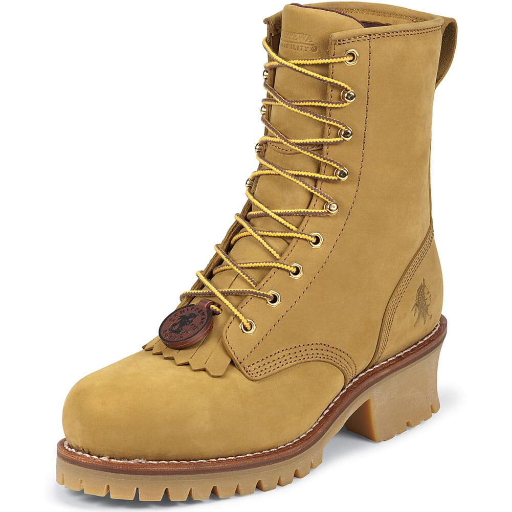 Chippewa Men's Safety Loggers - Tan (ALL SALES FINAL)