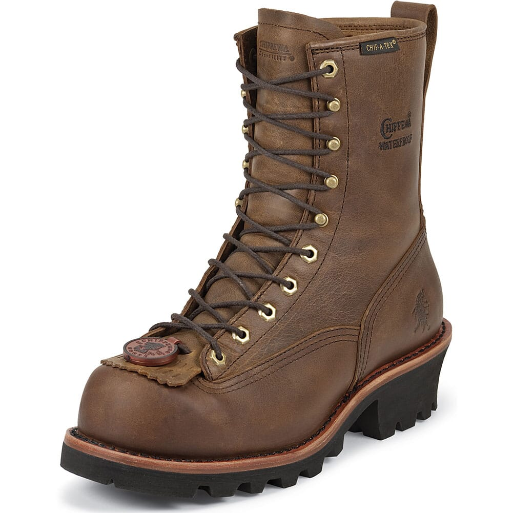 Chippewa Men's Safety Loggers - Bay Apache (ALL SALES FINAL)