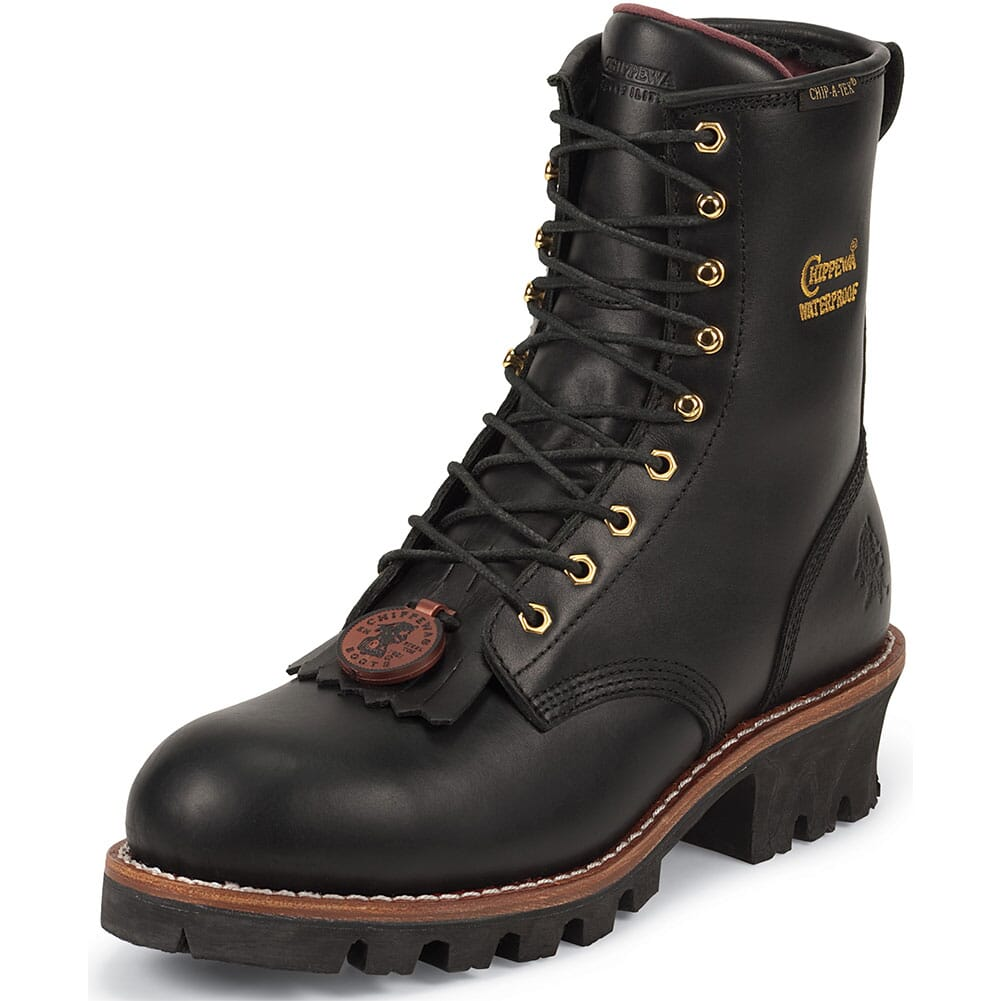 Chippewa Women's Waterproof Safety Loggers - Black