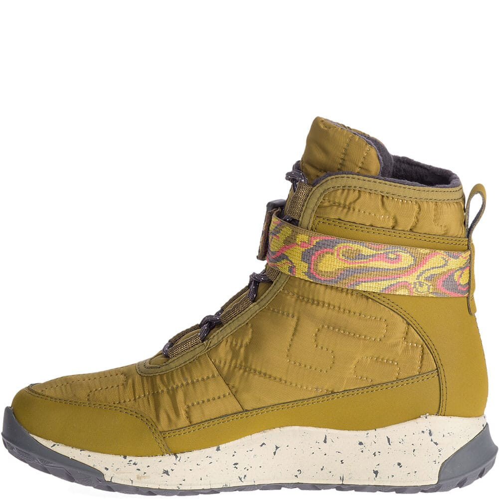 Chaco Women's Borealis Quilt WP Casual Boots - Seaweed