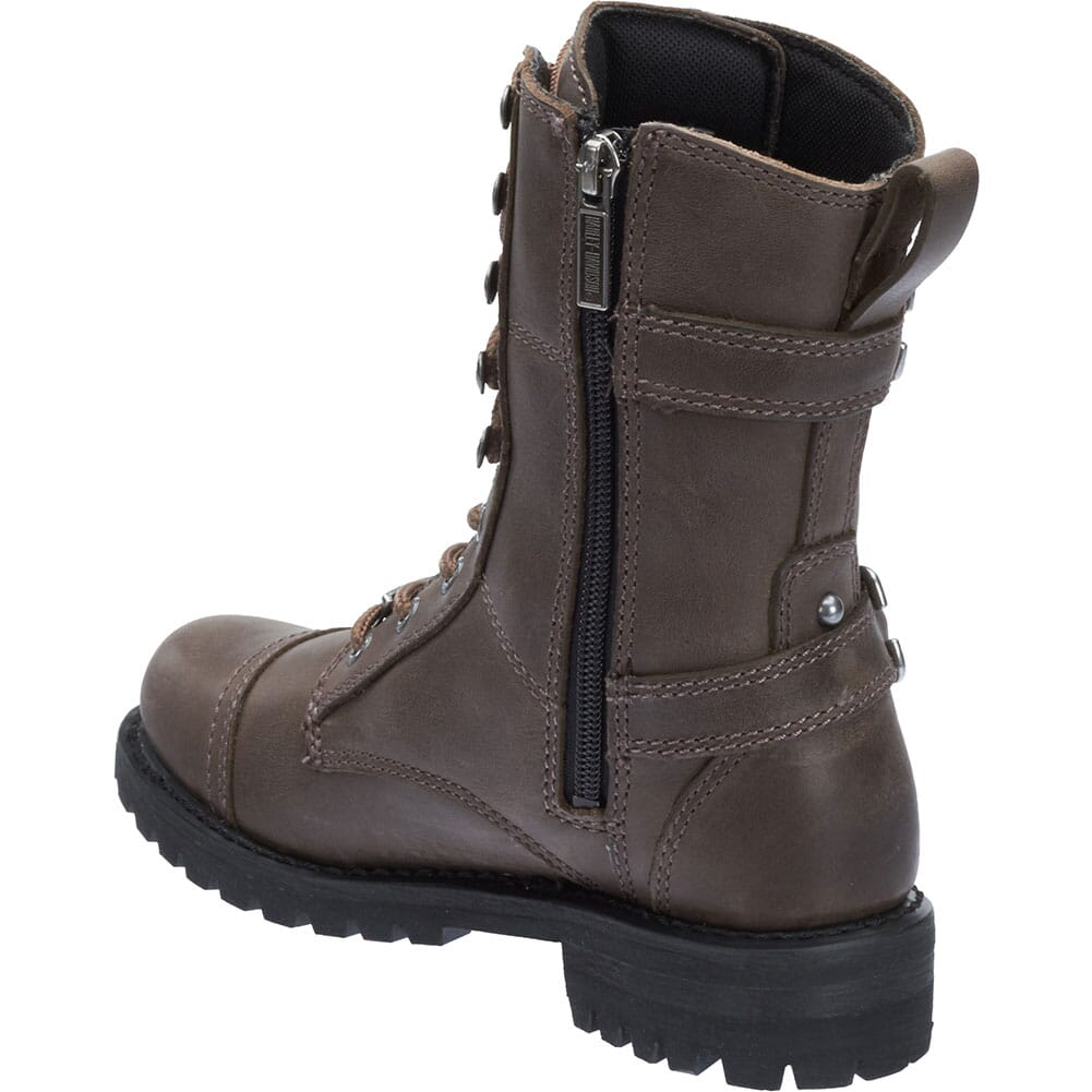 Harley Davidson Women's Balsa Motorcycle Boots - Stone
