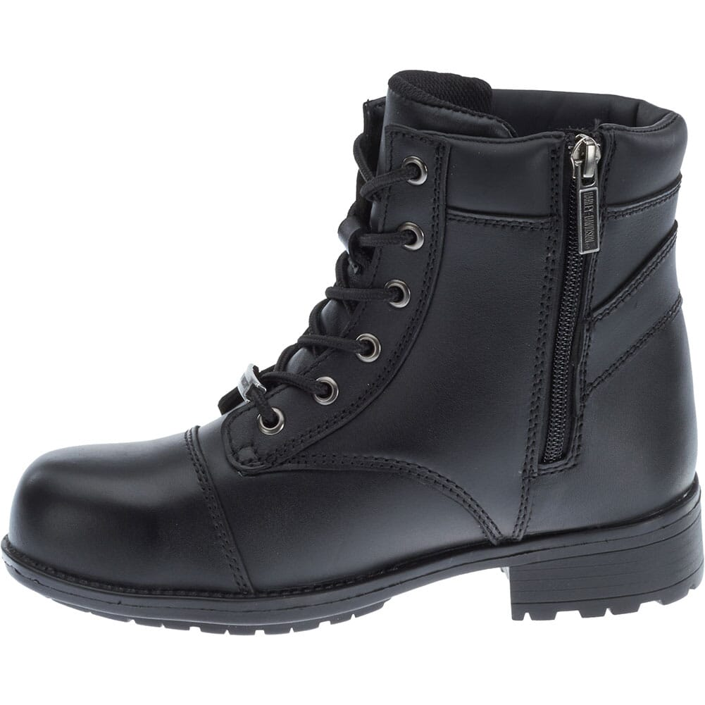 Harley Davidson Women's Raine Safety Boots - Black