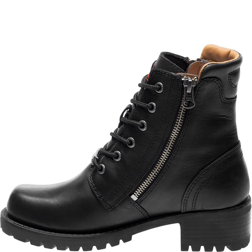 Harley Davidson Women's Asher Motorcycle Boots - Black