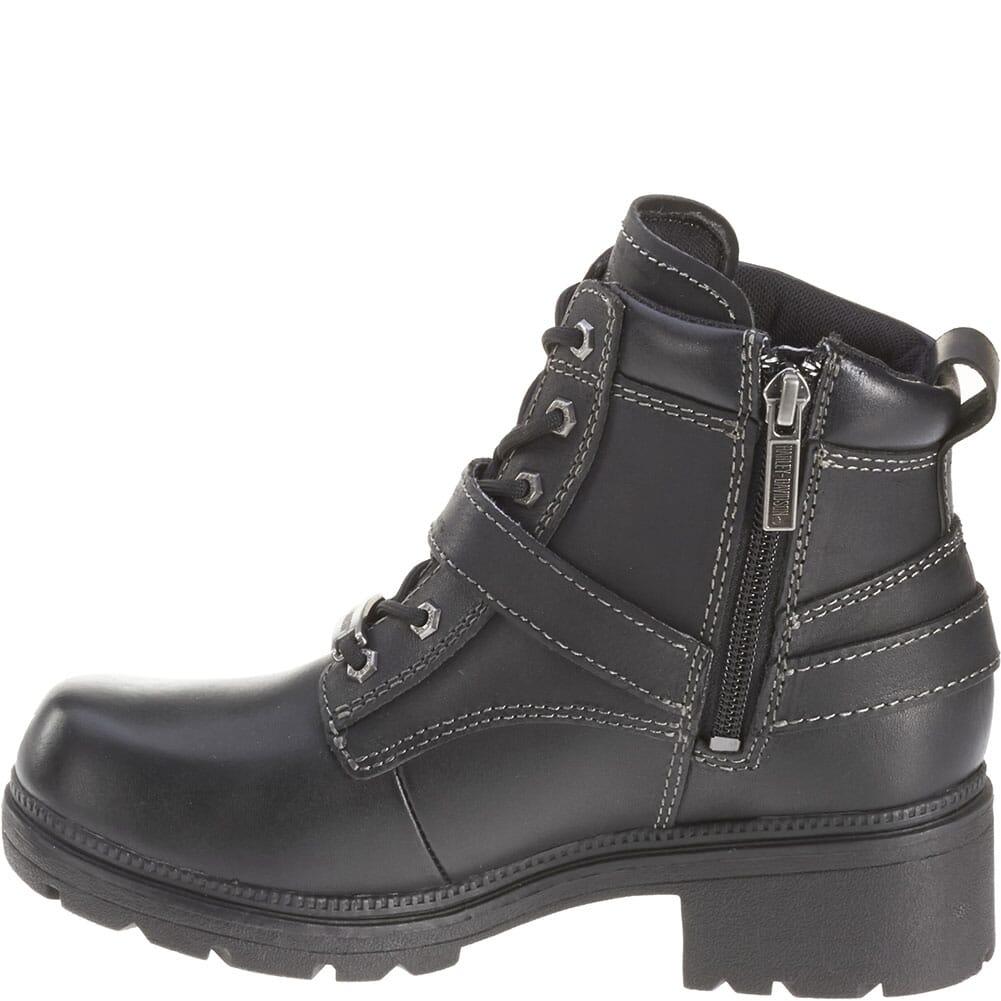 Harley Davidson Women's Tegan Motorcycle Boots - Black